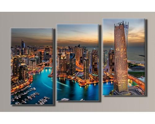 Картины модульные Города
