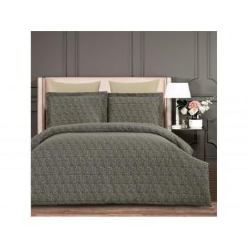 Комплект постельного белья Arya Alamode Евро сатин Kilan арт.TR1005571