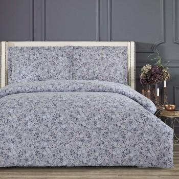 Комплект постельного белья Arya Simple Living полуторный сатин Kendall арт.TR1005607
