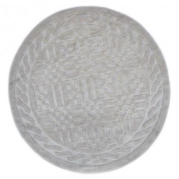 Коврик для ванной Arya Berceste D-120 см бежевый арт.1380026