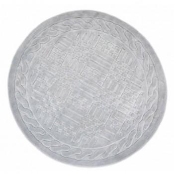 Коврик для ванной Arya Berceste D-120 см серый арт.1380026