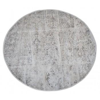 Коврик для ванной Arya Eskitme D-120 см бежевый арт.TR1004842