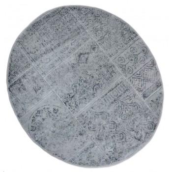 Коврик для ванной Arya Eskitme D-120 см серый арт.TR1004842