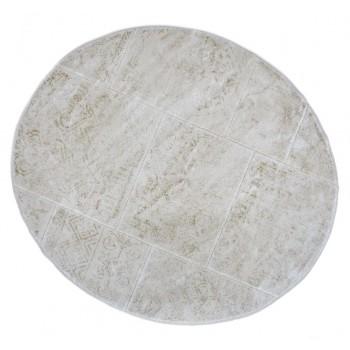 Коврик для ванной Arya Eskitme D-120 см слоновая кость арт.TR1004842