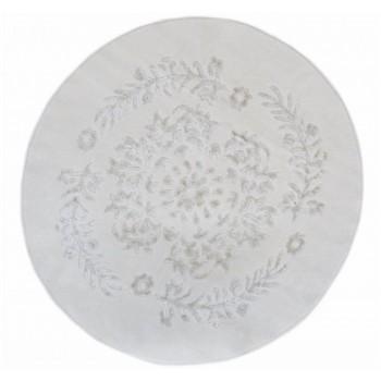 Коврик для ванной Arya Luxor D-120 см кремовый арт.1380062