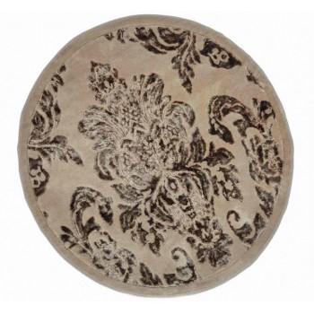 Коврик для ванной Arya Osmanli D-120 см коричневый арт.TR1004843
