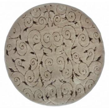 Коврик для ванной Arya Sarmasik D-120 см коричневый арт.1380031