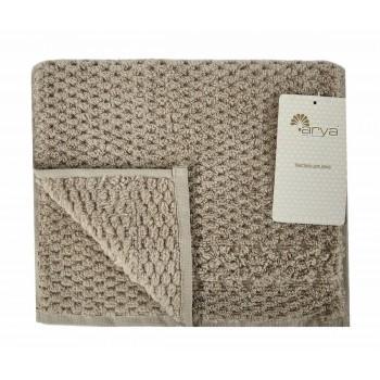 Полотенце для лица Arya Arno 30*50 см махровое банное коричневое арт.TR1002180