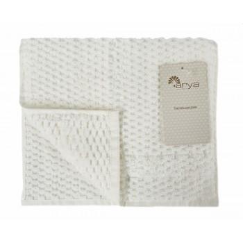 Полотенце для лица Arya Arno 30*50 см махровое банное кремовое арт.TR1002180