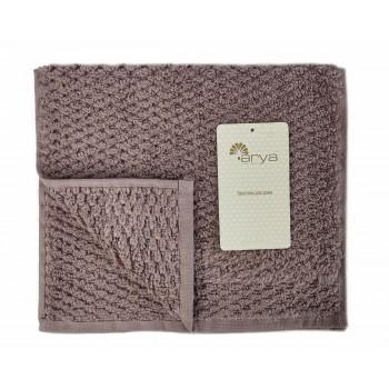 Полотенце для лица Arya Arno 30*50 см махровое банное пурпурное арт.TR1002180
