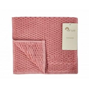 Полотенце для лица Arya Arno 30*50 см махровое банное в тубе розовое арт.TRK111000022348