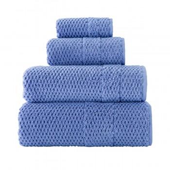 Полотенце для лица Arya Arno 50*90 см махровое банное голубое арт.TR1001808