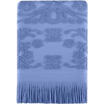 Полотенце для лица Arya Isabel Soft 50*90 см махровое жаккардовое банное голубое арт.TR1002487