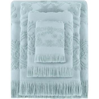 Полотенце для лица Arya Isabel Soft 50*90 см махровое жаккардовое банное мятное арт.TR1002487