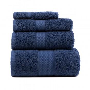 Полотенце для лица Arya Miranda Soft 50*90 см махровое банное синее арт.TRK111000017463