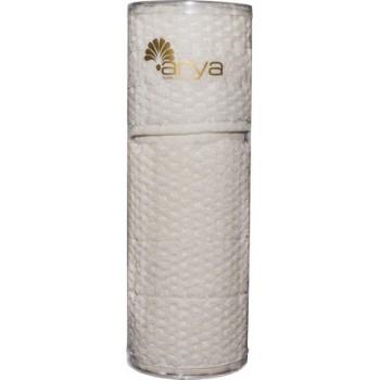 Набор полотенец для лица Arya Arno 30*50 см + 50*90 см махровые банные в тубусе кремовый арт.TRK111000022347