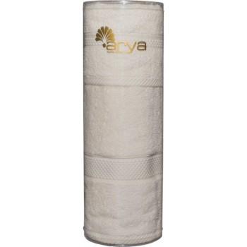Набор полотенец для лица Arya Miranda Soft 30*50 см + 50*90 см махровые банные в тубусе экрю арт.TRK111000022349