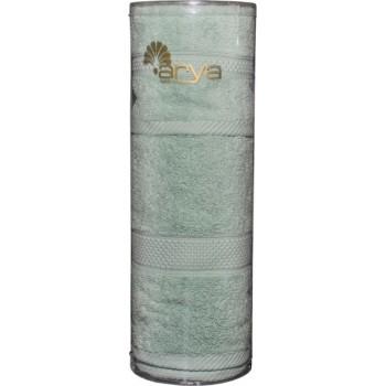 Набор полотенец для лица Arya Miranda Soft 30*50 см + 50*90 см махровые банные в тубусе мятный арт.TRK111000022349