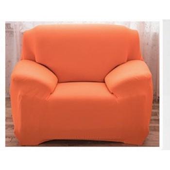 Чехол на кресло Homytex одноместный 90*140 см бифлекс оранжевый арт.6-12197