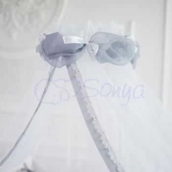 Балдахин Маленькая Соня Mon Cheri серый детский арт.052552