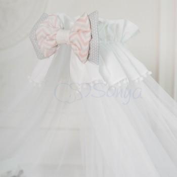 Балдахин Маленькая соня Mi-mi мятный детский арт.052609