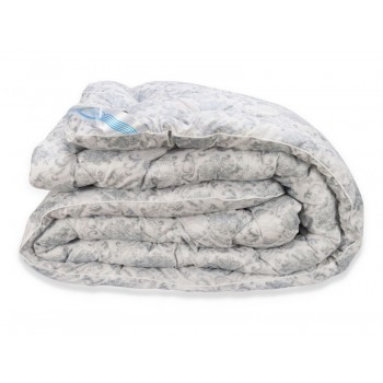 Одеяло Leleka-textile Био-пух двуспальное 172*205 см микрофибра/искусственный лебяжий пух особо теплое М6