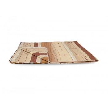 Одеяло-покрывало Leleka-textile двуспальное 172*205 см поликоттон/холлофайбер стеганое летнее П816