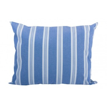 Подушка декоративная LiMaSo Голубая полоска 40*50 см хлопок арт.GP04.40х50