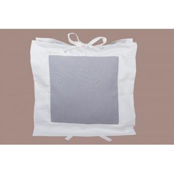Подушка декоративная LiMaSo Серая классика 50*50 см хлопок арт.KL01.50х50