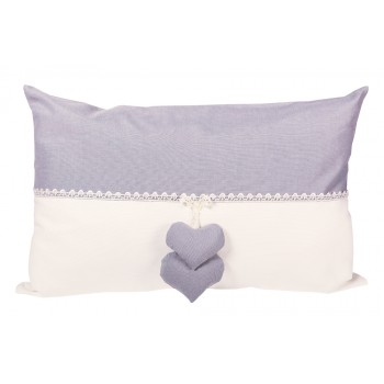Подушка декоративная LiMaSo Серая классика 40*50 см хлопок арт.KL02.40х50