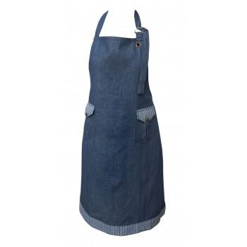 Фартук для кухни LiMaSo Patched 70*85см хлопковый синий арт.RA2469.70х85