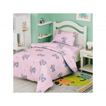 Комплект постельного белья в кроватку Leleka-textile детский ранфорс арт.БД-73
