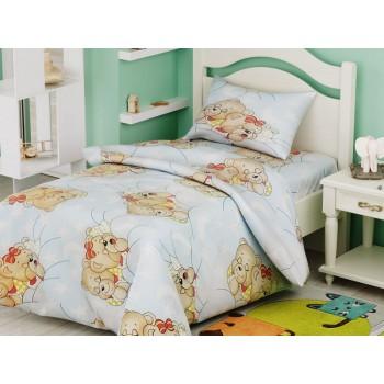 Комплект постельного белья в кроватку Leleka-textile детский ранфорс арт.БД-74