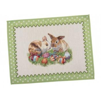 Салфетка-подкладка для кухни LiMaSo 37*49 см гобеленовая пасхальная арт.RUNNER865-49.37х49