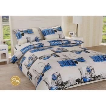 Комплект постельного белья Leleka-textile двуспальный ранфорс арт.Р-374