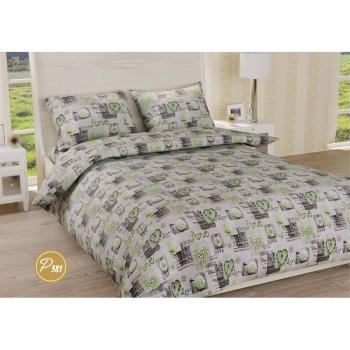 Комплект постельного белья Leleka-textile двуспальный ранфорс арт.Р-381