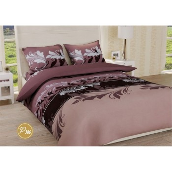 Комплект постельного белья Leleka-textile двуспальный ранфорс арт.Р-386