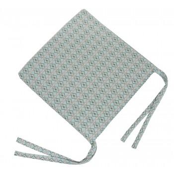 Подушка на табурет LiMaSo Ромб 40*40 см хлопковая арт.ETNIC006-PD.40х40