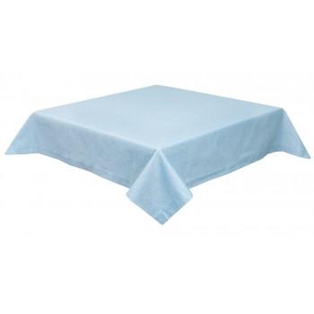 Скатерть LiMaSo 130*140 см хлопковая голубая арт.PRASEL49-140.130x140