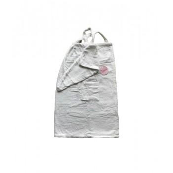 Комплект для сауны Linda Kadir махровый женский 2 предмета р.S/M кремовый арт.8698485045726