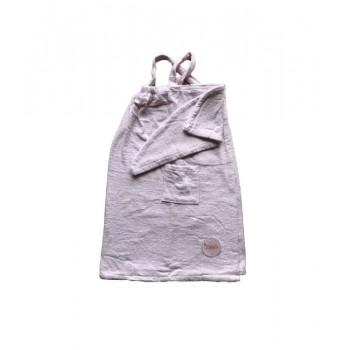 Комплект для сауны Linda Kadir махровый женский 2 предмета р.S/M розовый арт.8698485045733