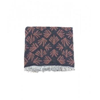Полотенце-пештемаль пляжное Gold Soft Life Leaf 100*180 см красное арт.ts-02320
