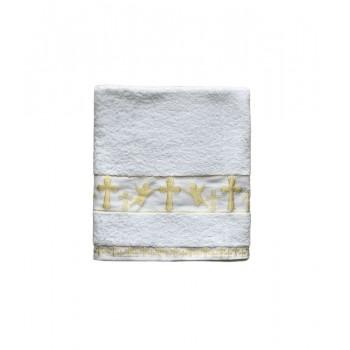 Крыжма для крещения Sikel Organic Cotton 70*140 см махра золото арт.ts-6001235