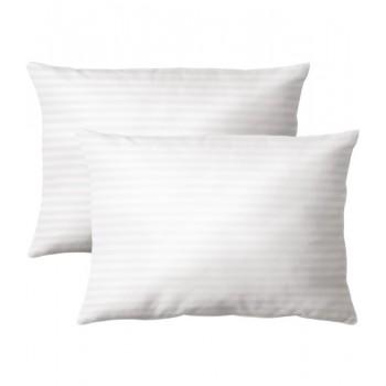 Наволочка на подушку Zugo Home Hotel Line Stripe 50*70 см сатин белый 2шт арт.ts-01772