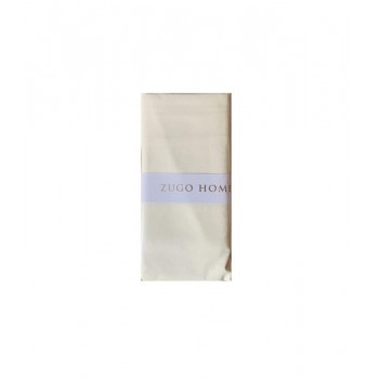 Наволочка на подушку Zugo Home Basic 50*70 см ранфорс крем 2шт арт.ts-02066