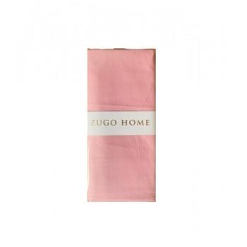 Наволочка на подушку Zugo Home Basic 50*70 см ранфорс розовый 2шт арт.ts-02063