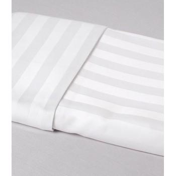Пододеяльник Zugo Home Hotel Line Stripe Евро 200*220 см сатин белый арт.ts-01774