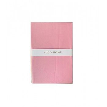 Простынь Zugo Home Basic полуторная 160*240 см ранфорс розовая арт.ts-02080