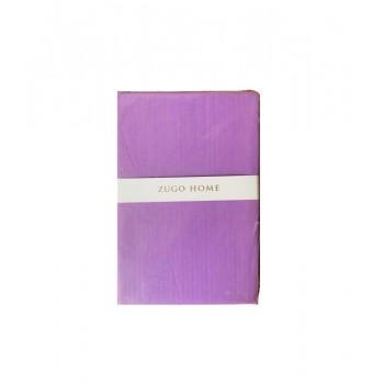 Простынь Zugo Home Basic полуторная 160*240 см ранфорс фиолетовая арт.ts-02081