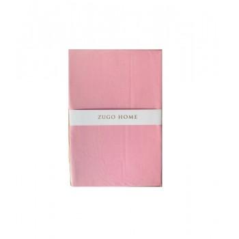 Простынь Zugo Home Basic Евро 220*240 см ранфорс розовая арт.ts-02085